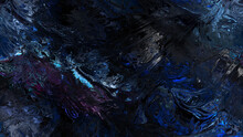 Beautif Neon Light Glass And Transform The Fluted Surface Of A Magical Landscape With Patterns. A Luxurious Fluid Art Of Geological Fabulous Minerals And Precious Stones