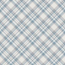 Plaid Seamless Pattern. Vector Background Of Textile Ornament. Flat Fabric Design.