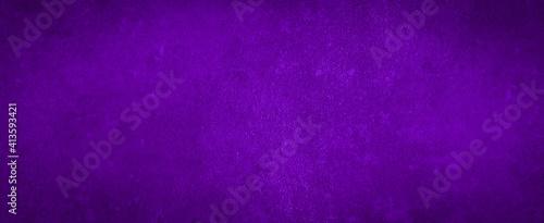 Dark abstract purple concrete paper texture background banner pattern