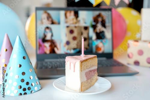 Foto Kids virtual birthday,home party