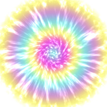 Abstract Colorful Tie Dye Pattern