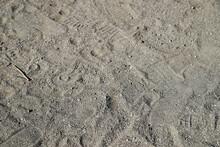 砂・砂浜・足元・地面