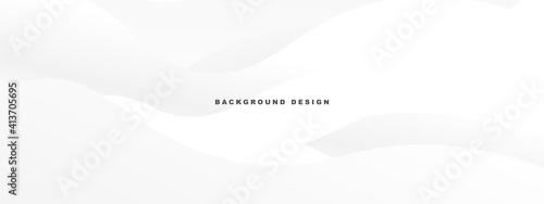 Fotografía White abstract modern background design. wave texture style.