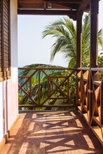 Balcony At Tourist Resort