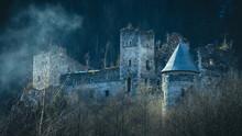 Burg Schachenstein In Thörl Am Südabhang Des Schöckl In Der Steiermark, Österreich