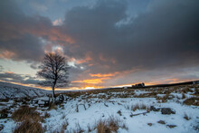 Scenery Around Calderdale In West Yorkshire