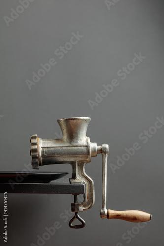Fotografie, Tablou Old meat grinder.
