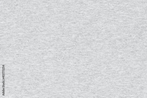 Fototapeta White natural texture of knitted wool textile material background