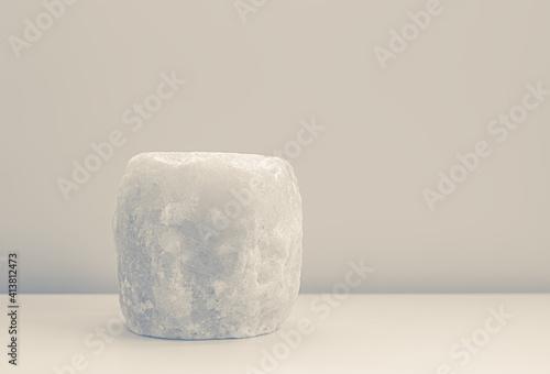Obraz na plátně still-life with a decorative piece of colored native salt