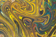 Colorful Paint Patterns As Abstract Art Background Texture