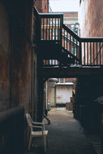 Staircase In Alleyway Cumberland Maryland