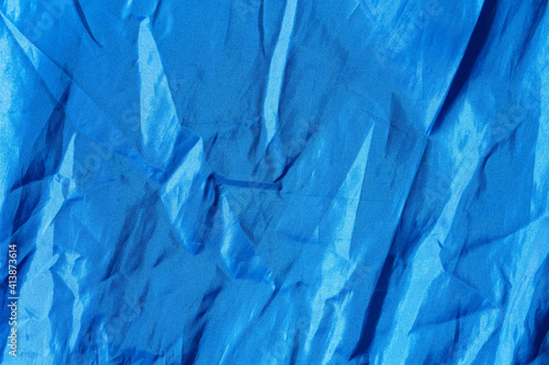 crumpled fabric texture for background with folds