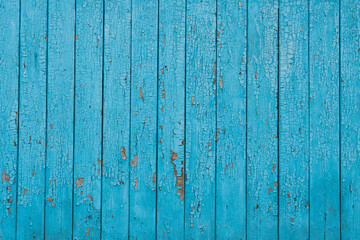 Texture boards painted with blue paint