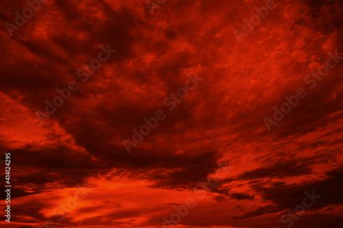 Obraz na płótnie Abstract dark red background