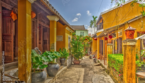 Fototapety, obrazy: Hoi An historical center, Vietnam, HDR Image