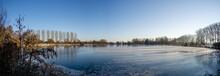 A Winter Landscape At Puyenbroeck Wachtebeke