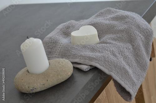 Fotografie, Obraz Savon de bain