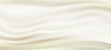 Pearl Silk Satin Fabric Background. Vector Illustration. EPS10