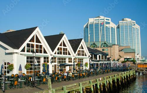 Obraz na plátně Canada, Nova Scotia, Halifax Waterfront