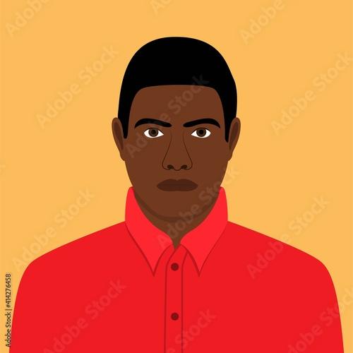 Tela African American illustration, cultural diversity, editable vector