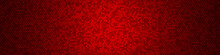 Honeycomb Grid Tile Random Background Or Hexagonal Cell Texture. In Color Bright Red With Dark Or Black Gradient. For Billboard Backdrop Or Background.