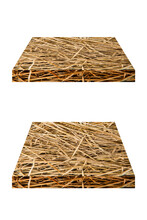 Straw, Dry Straw Set Texture Background, Vintage Style For Design.