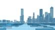 architecture urban landscape 3d rendering