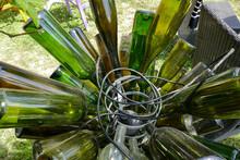 Wine Bottle Wooden Holder