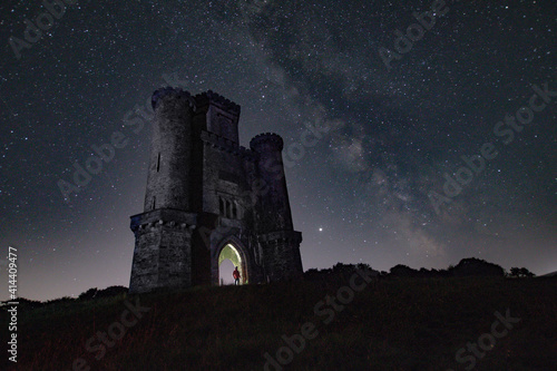castle in the night Fototapeta