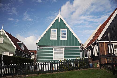 Obraz na plátne A traditional village from Netherlands