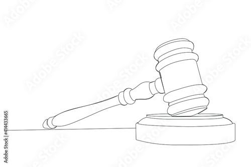 Obraz na plátně justice