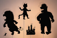 Puss In Boots Storytelling, Fairytale Shadow Puppets.