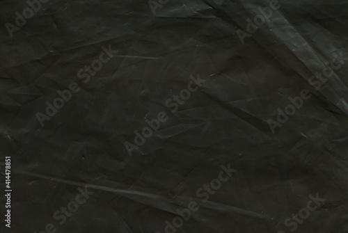 Obraz texture of black matte polyethylene background - fototapety do salonu