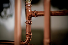 New Shiny Copper Pipework