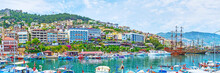 Panorama Of Marina In Alanya, Turkey