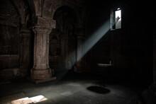 Light Window In The Church
