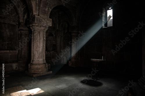 Foto Light window in the church
