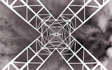 Antena Electricidad En Negativo