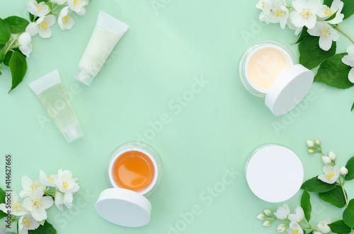 Obraz na plátně spring facial care