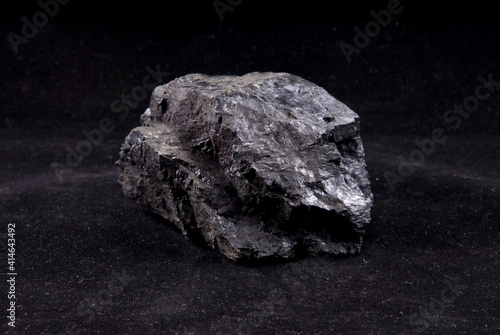 Canvas-taulu anthracite coal sample