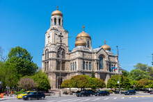 Dormition Of The Theotokos Cathedral In Varna, Bulgaria