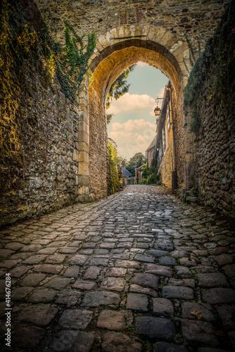 La porte à Gerberoy Fototapeta