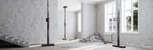 Baustelle Bei Renovierung In Altbau Wohnung