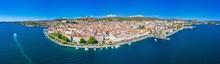 Skyline Of Sibenik With Saint James Cathedral And Fortresses Of Saint Michael And Saint John, Croatia