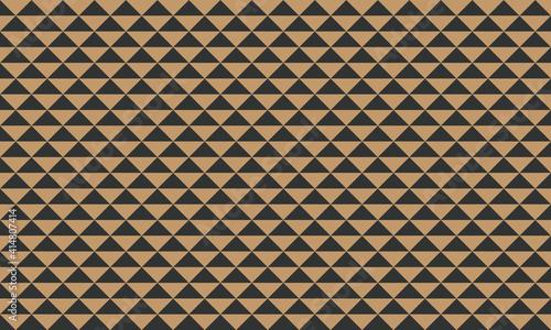 Slika na platnu 鱗模様 日本の伝統文様 背景素材 金色 黒