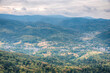 Panorama of Black Forest in Germany