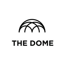 The Dome Palace Creative Logo Design. Template Vector Illustration Isolated Background
