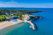 Aerial View Of Dyuni Resort In Bulgaria