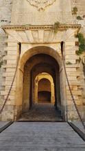 "The Entrance Of The Old Town Dalt Vila, ""Ses Taules""."