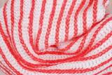 Tekstura szal biało pomarańczowy